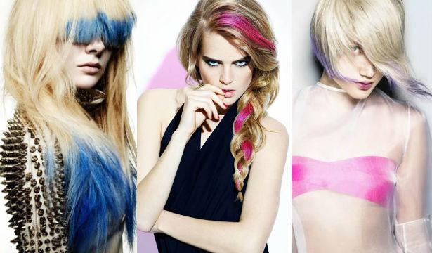 Цветные мелки для волос: как пользоваться (1)