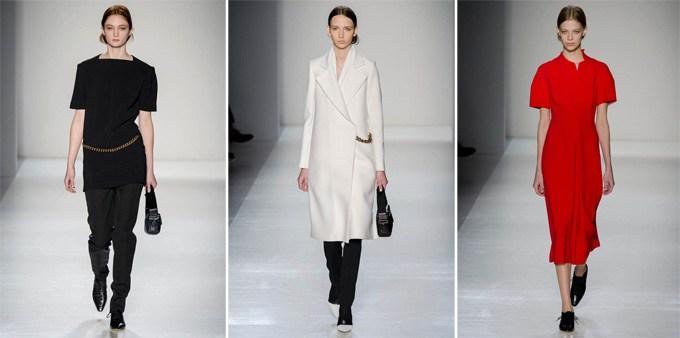 Неделя моды в Нью-Йорке: Victoria Beckham осень 2014 (1)