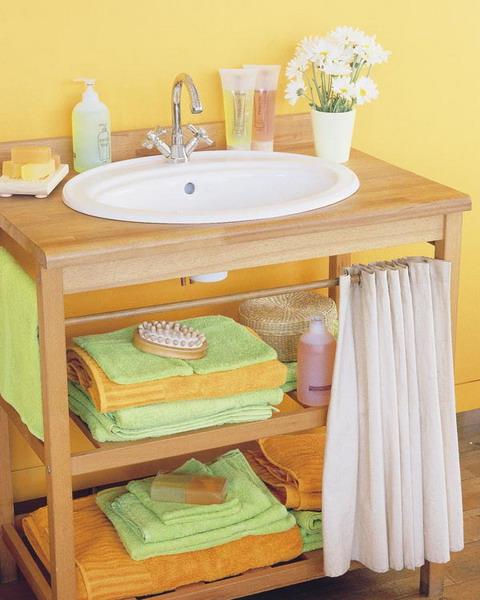 Самые лучшие идеи хранения вещей в ванной комнате (7)