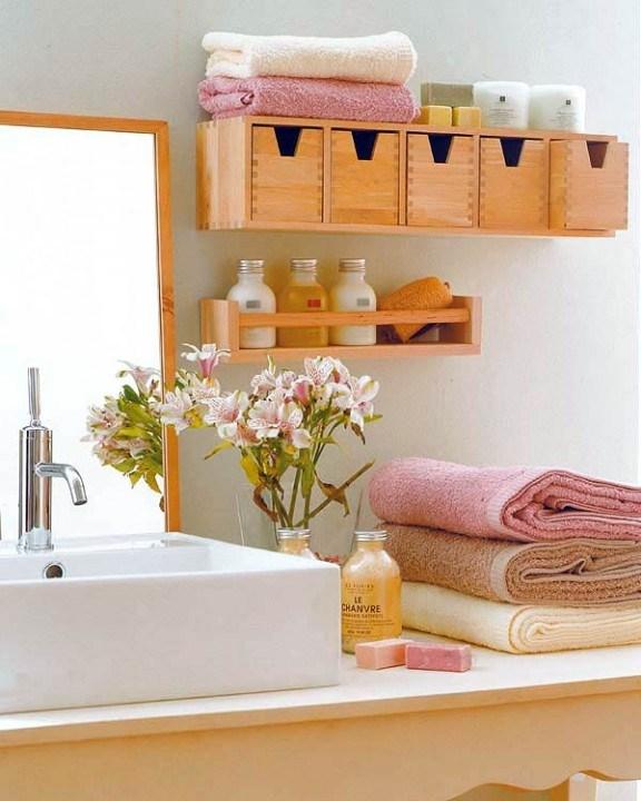 Самые лучшие идеи хранения вещей в ванной комнате (5)