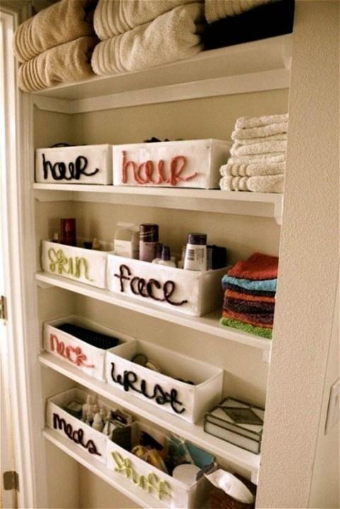Самые лучшие идеи хранения вещей в ванной комнате (4)