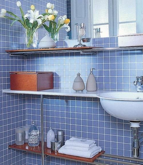 Самые лучшие идеи хранения вещей в ванной комнате (14)