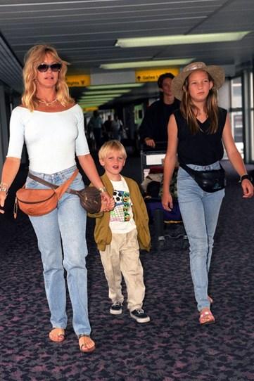 Кейт Хадсон 12 лет с мамой Голди Хоун