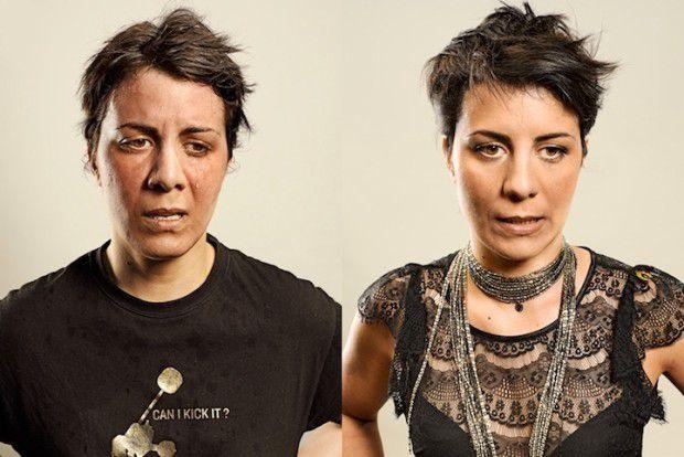 Люди до и после пробежки (14)