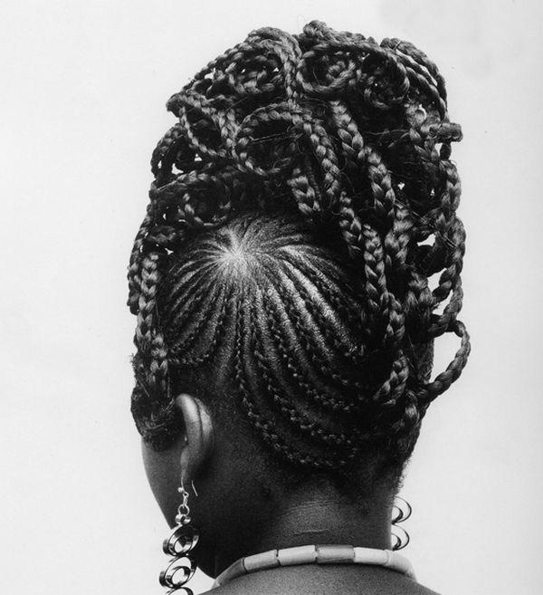 Прически девушек Африки (17)