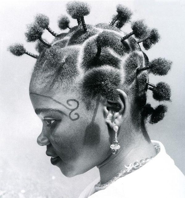 Прически девушек Африки (24)