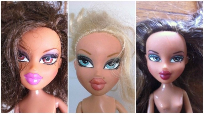 Если смыть макияж с куклы (2)