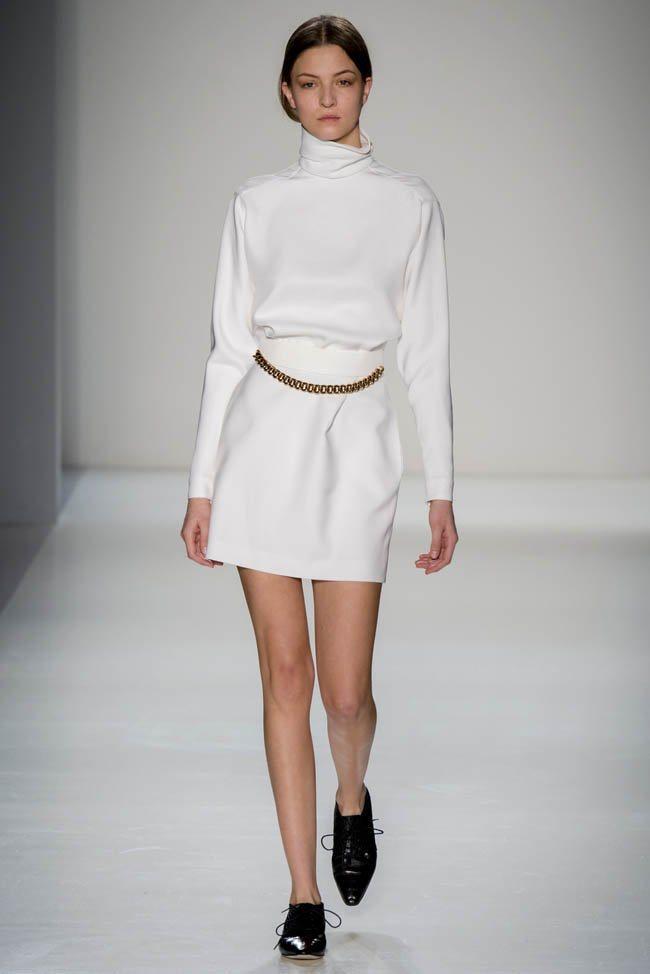 Неделя моды в Нью-Йорке: Victoria Beckham осень 2014 (10)