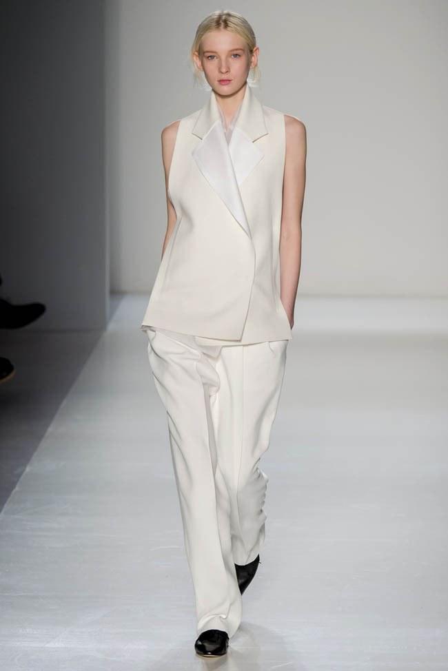 Неделя моды в Нью-Йорке: Victoria Beckham осень 2014 (11)