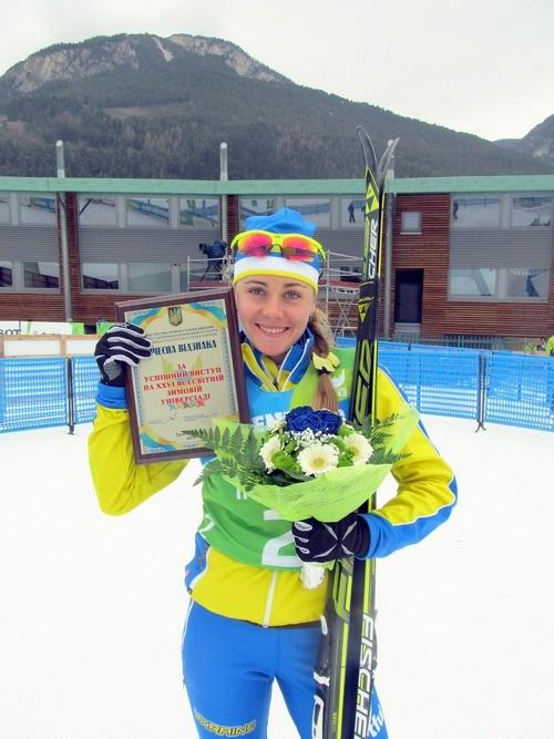 Марина Анцибор, лыжные гонки, Украина