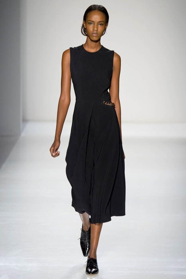 Неделя моды в Нью-Йорке: Victoria Beckham осень 2014 (12)