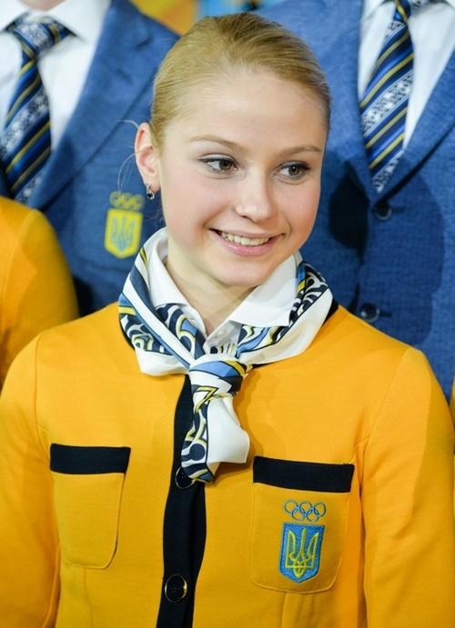 Юлия Лаврентьева, фигурное катание, Украина