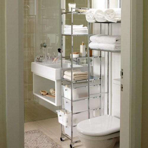 Самые лучшие идеи хранения вещей в ванной комнате (8)