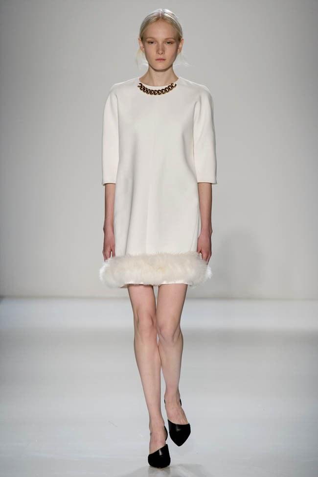 Неделя моды в Нью-Йорке: Victoria Beckham осень 2014 (14)