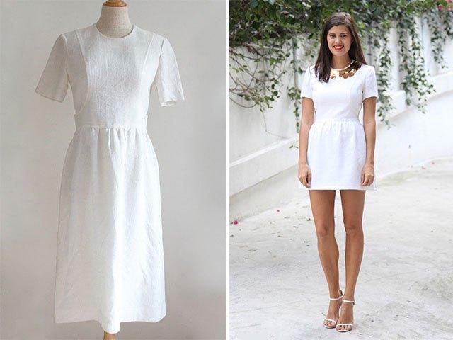 Как переделать старое платье в стильное и красивое (15)