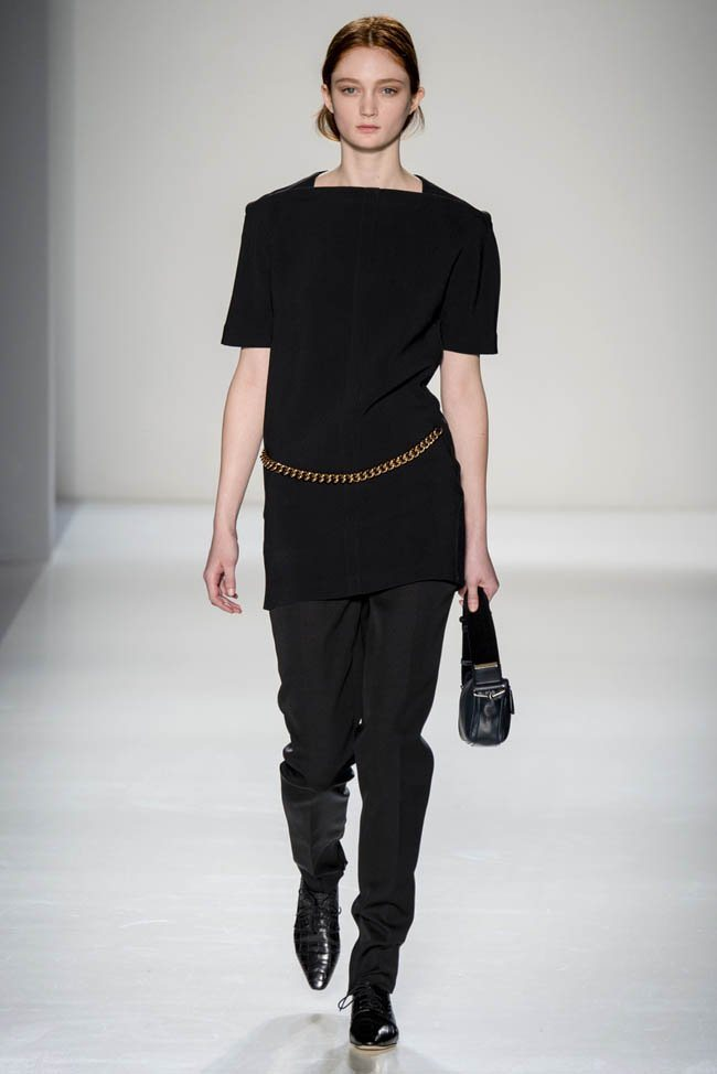 Неделя моды в Нью-Йорке: Victoria Beckham осень 2014 (15)