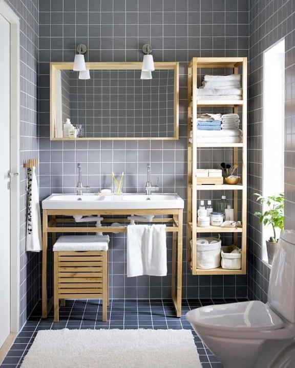 Самые лучшие идеи хранения вещей в ванной комнате (6)