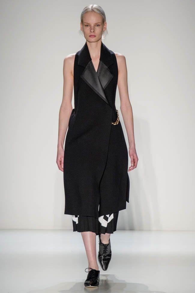 Неделя моды в Нью-Йорке: Victoria Beckham осень 2014 (16)
