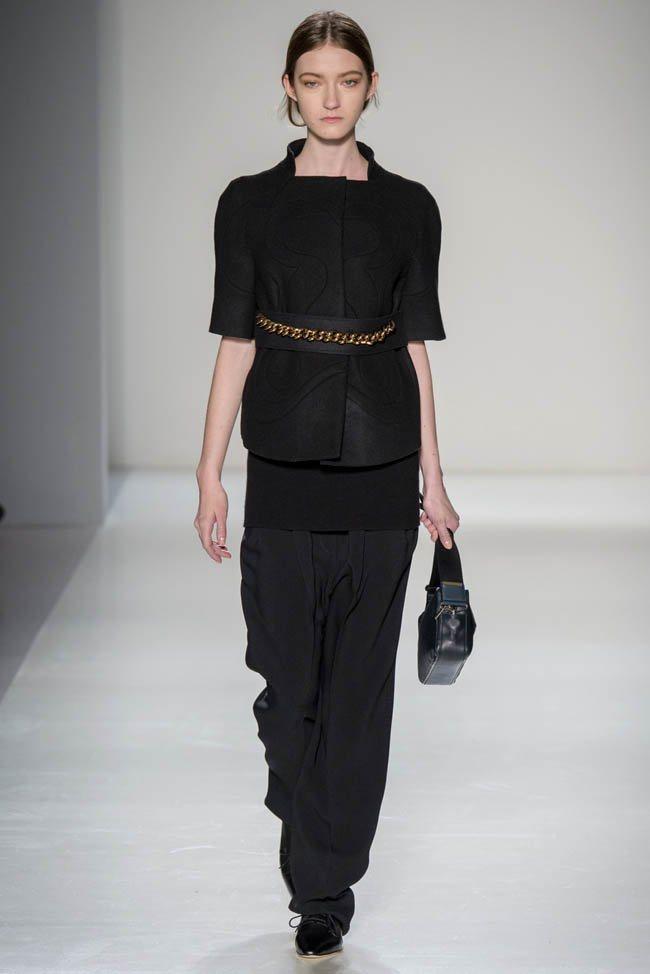 Неделя моды в Нью-Йорке: Victoria Beckham осень 2014 (17)