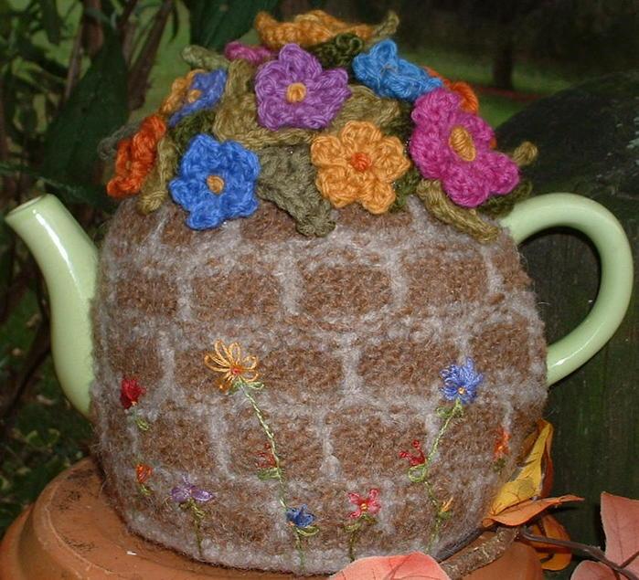 грелки на чайник своими руками (18)