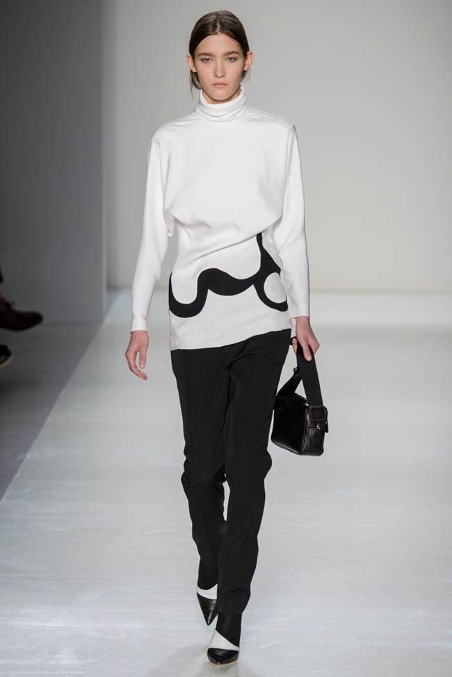 Неделя моды в Нью-Йорке: Victoria Beckham осень 2014 (18)