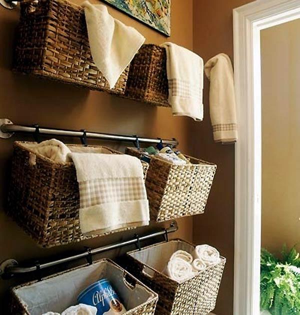Самые лучшие идеи хранения вещей в ванной комнате (3)