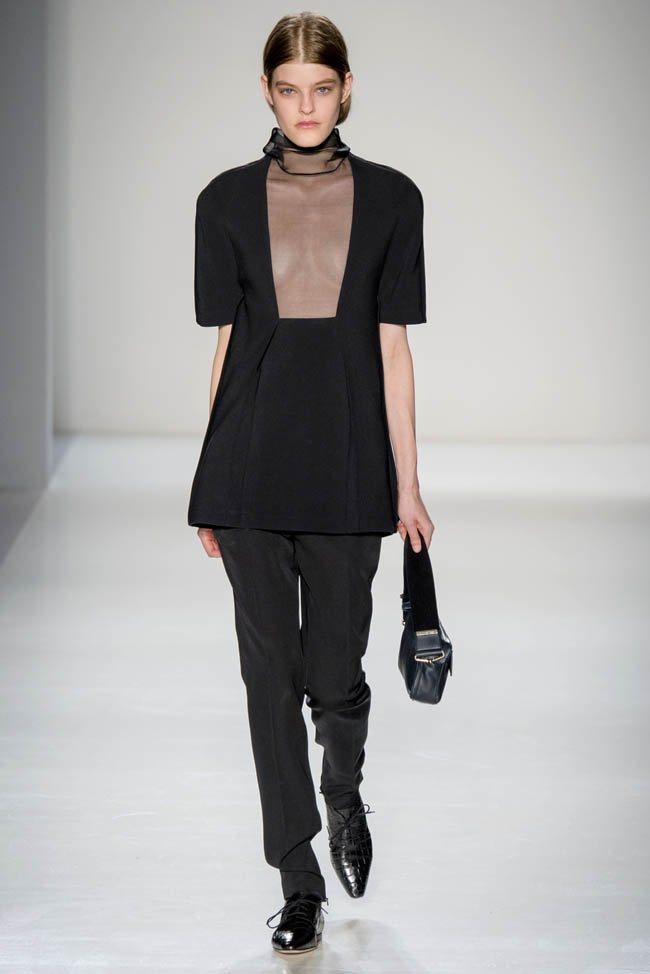 Неделя моды в Нью-Йорке: Victoria Beckham осень 2014 (19)
