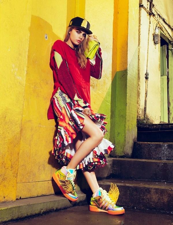 Модная фотосессия в журнале Vogue (2)