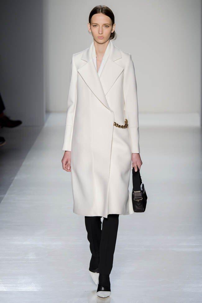 Неделя моды в Нью-Йорке: Victoria Beckham осень 2014 (2)