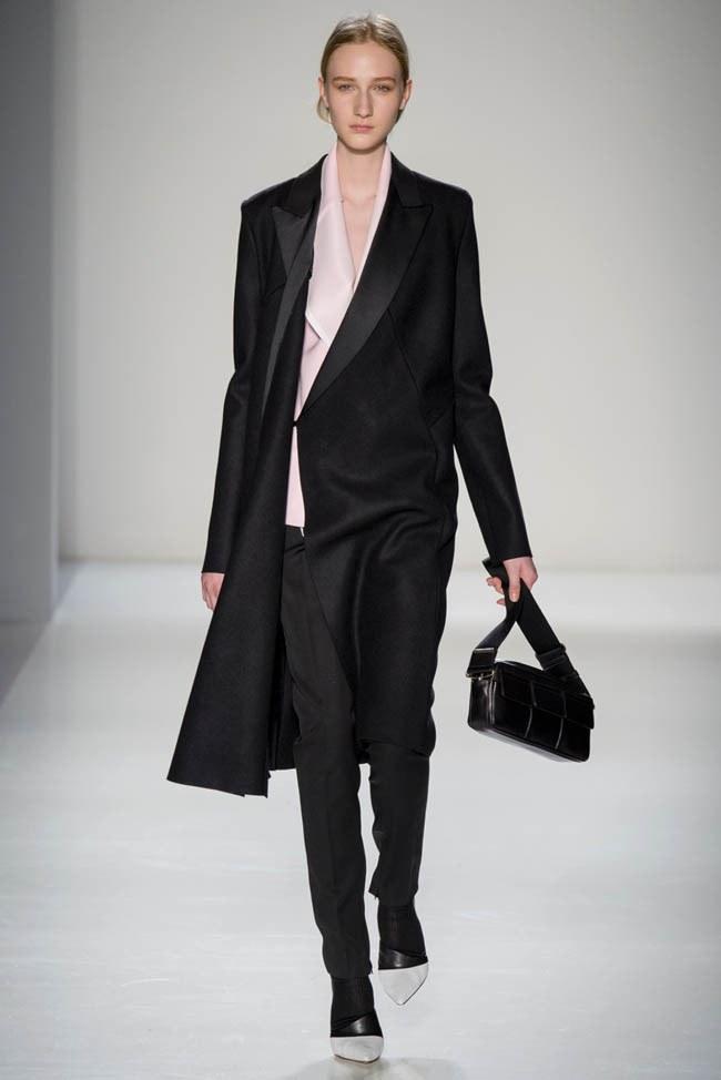 Неделя моды в Нью-Йорке: Victoria Beckham осень 2014 (21)