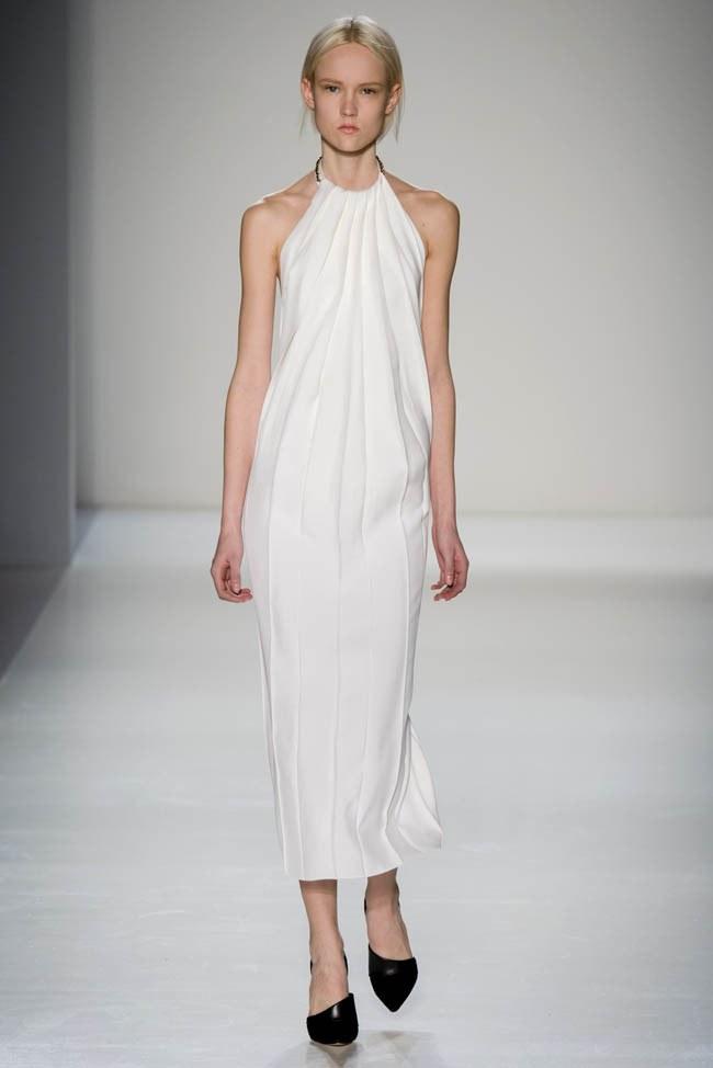 Неделя моды в Нью-Йорке: Victoria Beckham осень 2014 (23)