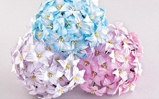 Красивые цветы из бумаги. Мастер-класс (2)