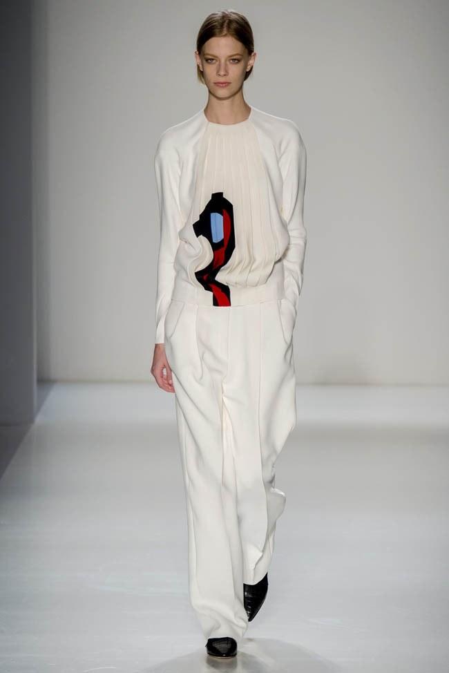 Неделя моды в Нью-Йорке: Victoria Beckham осень 2014 (24)
