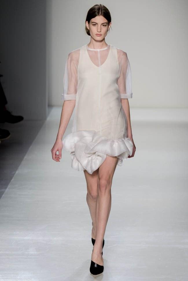 Неделя моды в Нью-Йорке: Victoria Beckham осень 2014 (27)