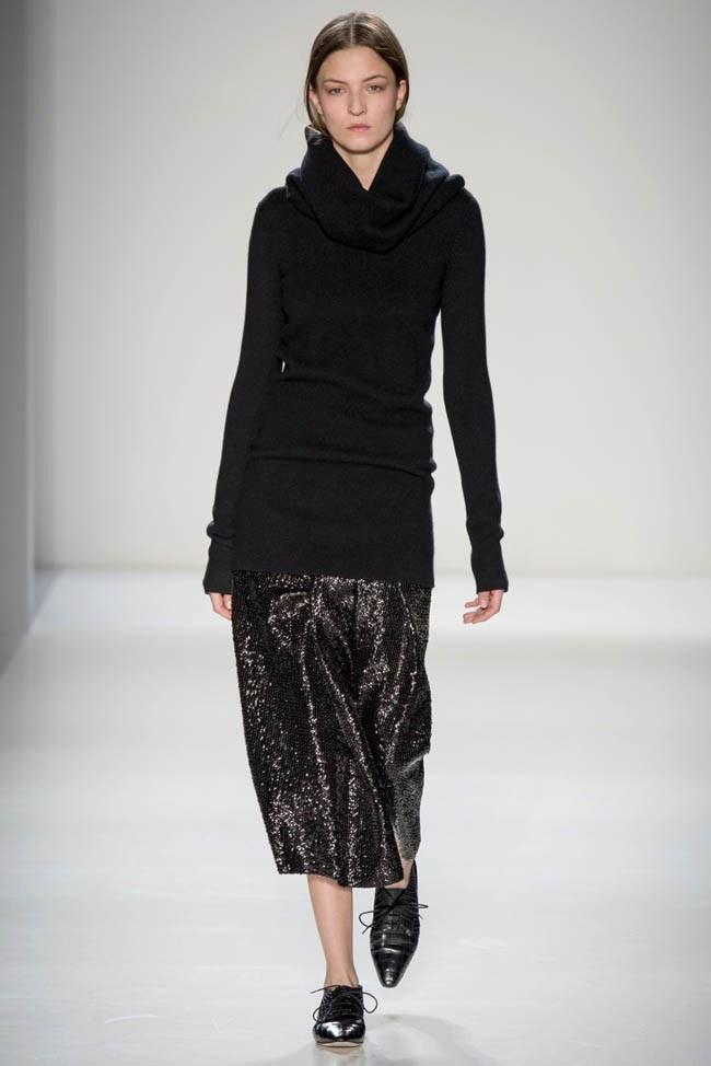 Неделя моды в Нью-Йорке: Victoria Beckham осень 2014 (28)