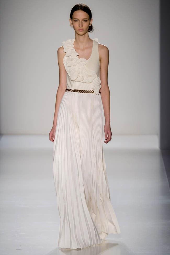 Неделя моды в Нью-Йорке: Victoria Beckham осень 2014 (29)