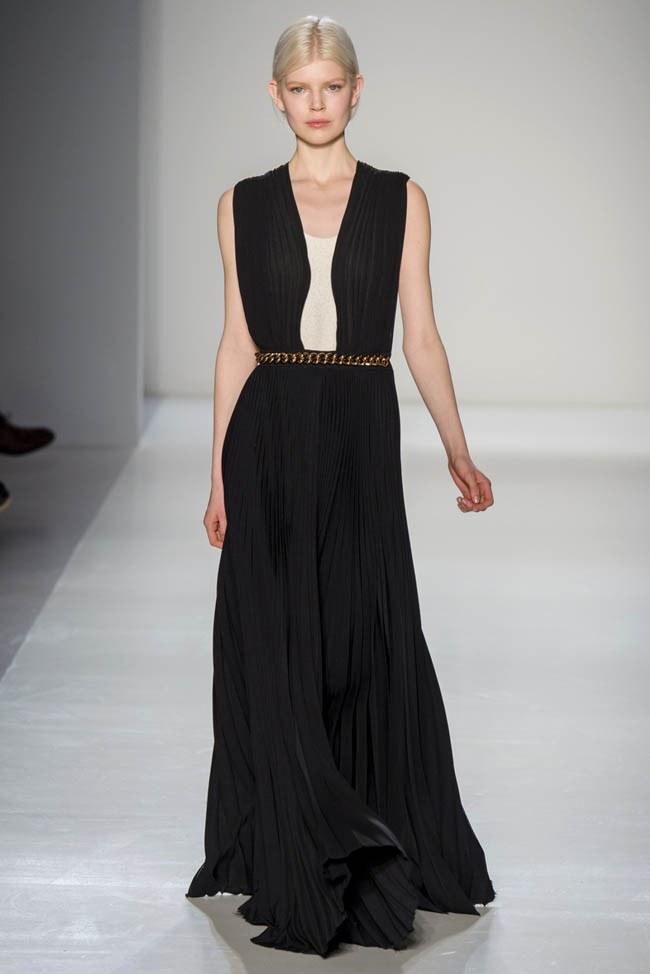 Неделя моды в Нью-Йорке: Victoria Beckham осень 2014 (30)