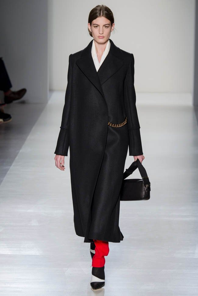 Неделя моды в Нью-Йорке: Victoria Beckham осень 2014 (3)