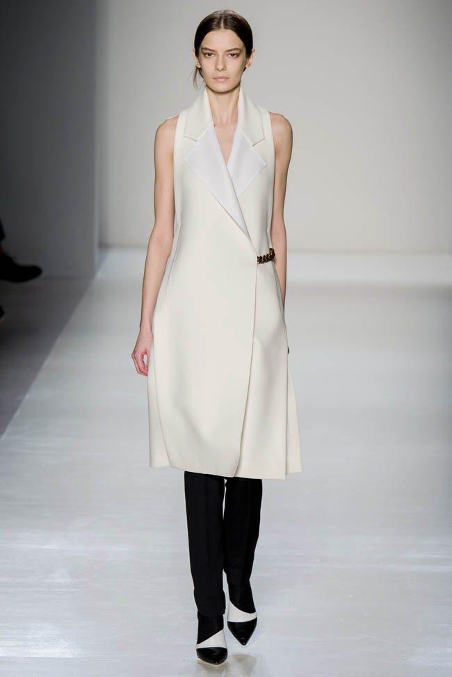 Неделя моды в Нью-Йорке: Victoria Beckham осень 2014 (4)