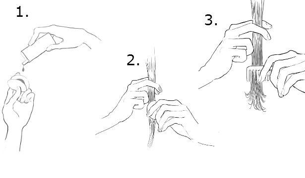 Цветные мелки для волос: как пользоваться (5)