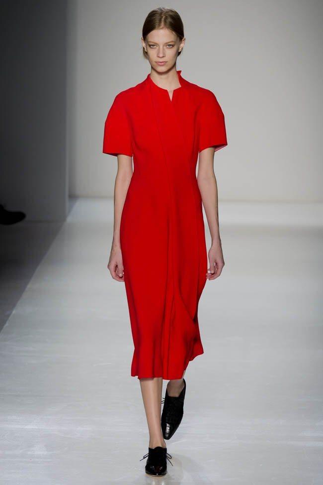 Неделя моды в Нью-Йорке: Victoria Beckham осень 2014 (5)