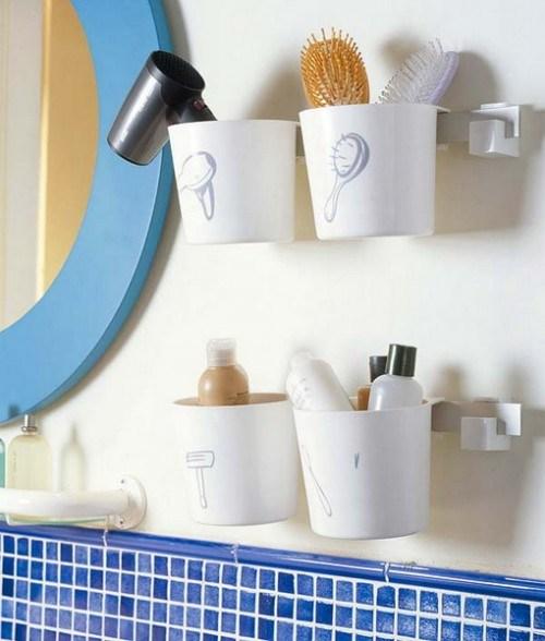 Самые лучшие идеи хранения вещей в ванной комнате (15)