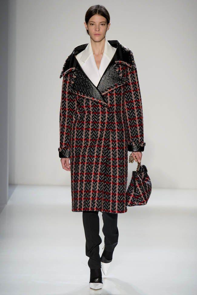 Неделя моды в Нью-Йорке: Victoria Beckham осень 2014 (6)