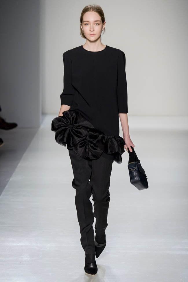 Неделя моды в Нью-Йорке: Victoria Beckham осень 2014 (7)