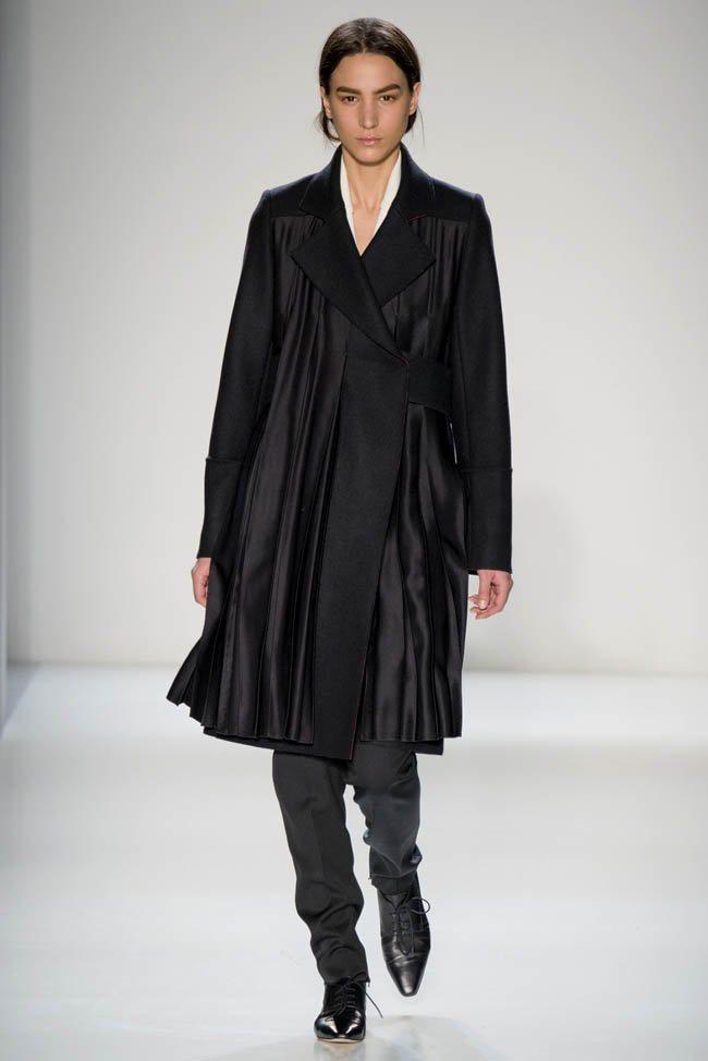 Неделя моды в Нью-Йорке: Victoria Beckham осень 2014 (8)