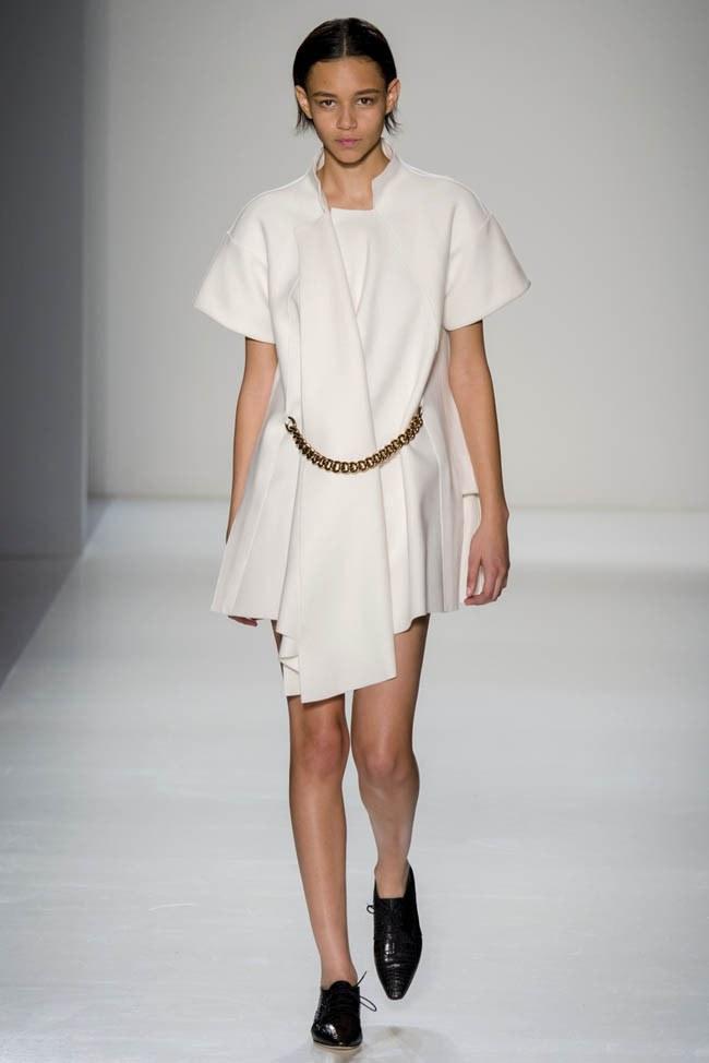 Неделя моды в Нью-Йорке: Victoria Beckham осень 2014 (9)