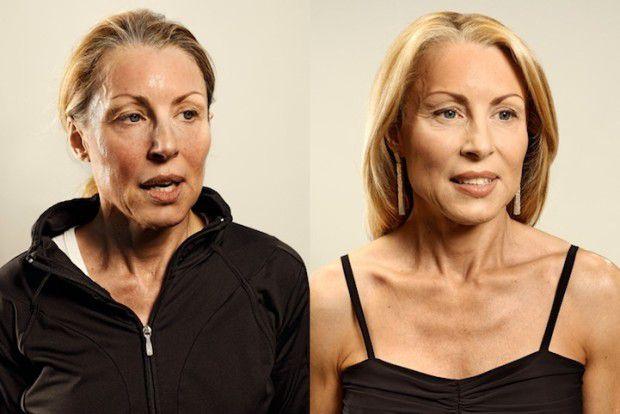 Люди до и после пробежки (12)