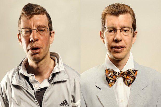Люди до и после пробежки (15)