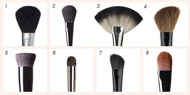 Кисти для макияжа и их описание (2)