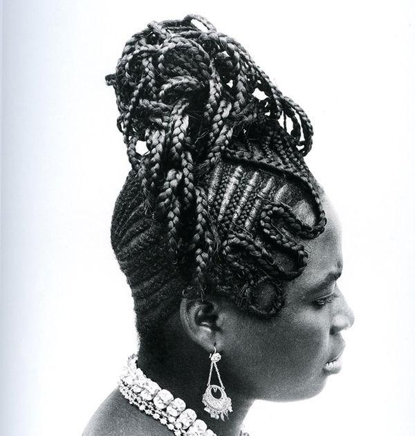Прически девушек Африки (1)